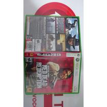 Red Dead Redemption Xbox 360 Box Capa Encarte Originais