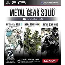Metal Gear Solid Hd Collection Ps3 Código Psn Receba Hoje