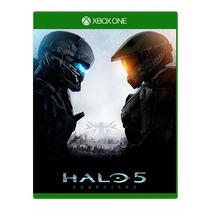 Jogo Halo 5 Xbox One Guardian Lacrado Míd. Física Lançamento