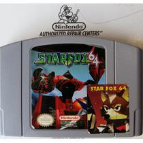 Star Fox 64 Nintendo 64 N64 Estado De Novo !!!