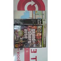 Encarte, Manual E Mapa (sem Jogo) Gta Iv Xbox 360