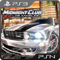 Midnight Club Los Angels Ps3 - Mídia Digital