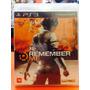 Jogo Remember Me Playstation 3, Jogo Físico, Aventura/ação