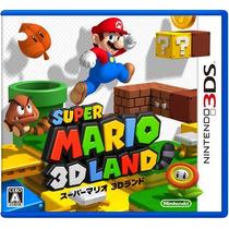 Super Mario 3d Land - 3ds - Versão Japonesa Região J.