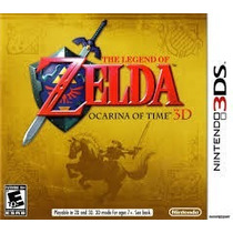 Jogo The Legend Of Zelda Ocarina Of Time Lacrado -americano