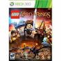 Lego Senhor Dos Anéis Lord Rings Xbox 360 Novo Lacrado