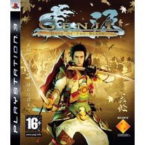 Genji Days Of The Blade -ps3- Midia Fisica