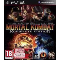 Mortal Kombat 9 Komplete Edition Ps3 - Mídia Física Lacrado