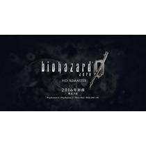 Resident Evil Zero, Remaster Ps3 Pré Venda Psn