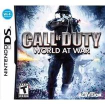 Call Of Duty World At War - Nintendo Ds - Original - Lacrado
