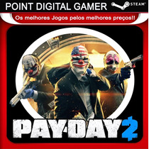 Payday 2 - Jogo Original Pc - Steam
