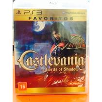Jogo Castlevania Playstation 3, Jogo Físico, Ação/aventura