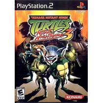 Patch Ps2 - Teenage Mutant Ninja Turtles 3 Mutant Nightmare
