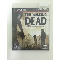 Jogo Ps3 - The Walking Dead - Impecável - Frete Barato