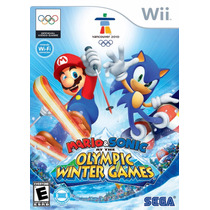 Mario & Sonic At The Winter Olympic Games Wii E Wii U