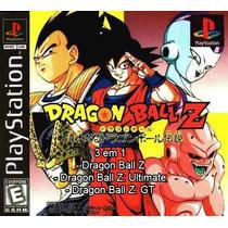 Dragon Ball Z Coleção Ps1 Patch