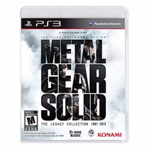 Metal Gear Solid: The Legacy Collection Ps3 Lacrado + Brinde