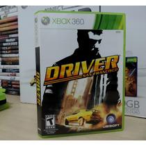 Driver San Francisco -para Xbox 360 Original