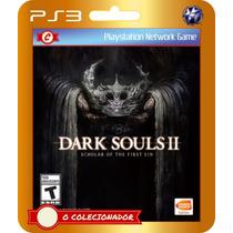 Dark Souls Ii Scholar Of The First Sin (código Ps3)