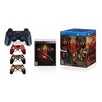 Kit Controle Joystick Ps3 Dualshock 3 + Jogo Diablo 3