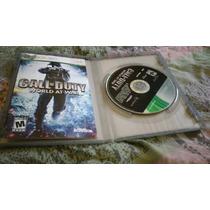 Call Of Duty World At War Original Para Xbox 360