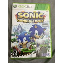 Sonic Generations Xbox 360 Original