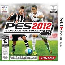Pro Evolution Soccer 2012 3d Jogo Nintendo 3ds Pronta Entreg