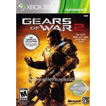 Gears Of War 2 Xbox 360 Platinum Hits Original Lacrado A5493
