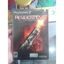 Resident Evil Outbreak Playstation 2 Lacrado