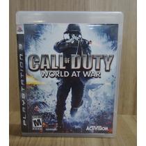 Jogo Call Of Duty World At War Play 3 (original)