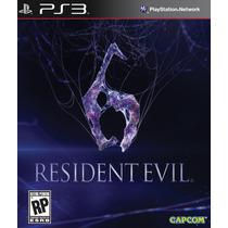 Resident Evil 6 Em Português + Resident Evil 2 - Ps3 - Psn