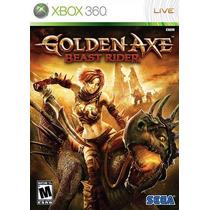 Jogo Golden Axe Beast Rider Ntsc Original Para Xbox 360