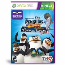 Xbox 360 Kinect The Penguins Of Madagascar Original -lacrado