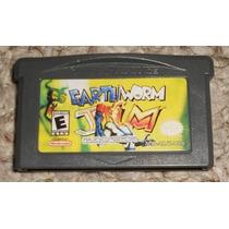 Gba: Earthworm Jim Advance Original Americano! Raríssimo!