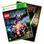 Lego The Hobbit + Filme Xbox 360 Pt Br Mídia Física + Brinde