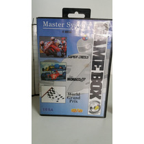 Cartucho Game Box Corridas C/ Caixa Master System Fita Jogo