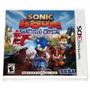 Sonic Boom Shattered Crystal 3ds - Americano - Lacrado