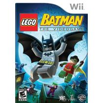Lego Batman Nintendo Wii Original Lacrado Pronta Entrega