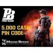 Pin Code Point Blank 5k