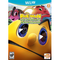 Pac-man And The Ghostly Adventures - Nintendo Wii U E-sedex