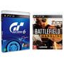 Gran Turismo 6 + Battlefield Hardline Ps3 Rcr Games