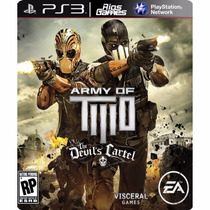 Army Of Two The Devils Cartel Ps3 Mídia Digital - Riosgames