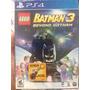 Lego Batman 3 Em Português - Ed Limitada Com Chaveiro - Ps4