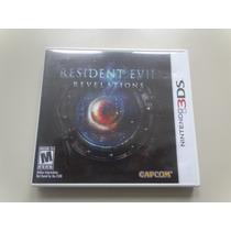Nintendo 3ds - Resident Evil Revelation Orig Completo - Veja