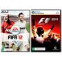 Kit 2 Jogos Fifa 12 + F1 2011 - Pc Dvd - Original E Lacrado!