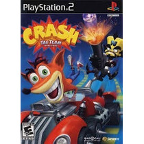 Crash Bandicoot Tag Team Racing Ps2 Patch Disco Impresso