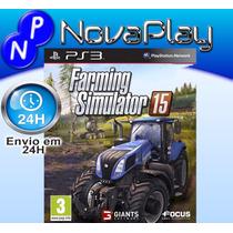 Farming Simulator 2015-ps3- Mídia Física- Português-f.grátis