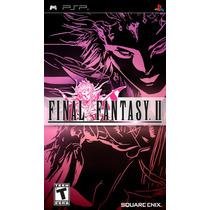 Jogo Psp Final Fantasy Ii Original E Lacrado Umd