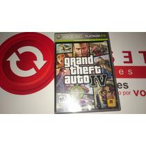 Gta Iv Xbox 360 Original Usado Inglês