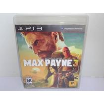 Max Payne 3 Ps3 Legendado Pt Bra Mídia Física